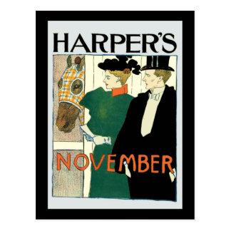 Harpers Juni-Pferd für Verkauf Postkarten