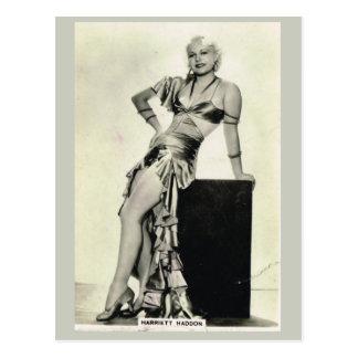 Harriet Haddon Postkarte