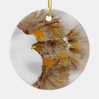 Harris feilbieten, Raubvogel Keramik Ornament
