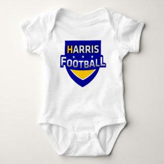 Harris-Fußball-Baby-Ausstattung Baby Strampler