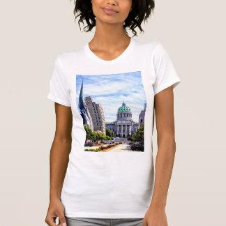 Harrisburg PA - Hauptstadt gesehen von der T-Shirt