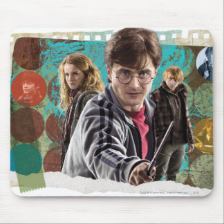 Harry, Hermione und Ron 1 Mousepad
