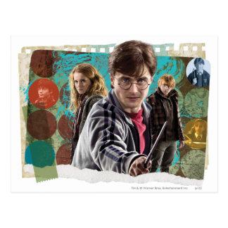 Harry, Hermione und Ron 1 Postkarte