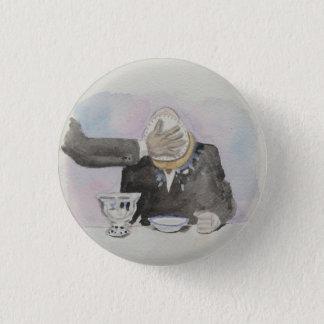 Harry-Hügel-Vanillepudding-Torten-Abzeichen Runder Button 3,2 Cm
