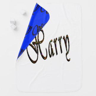 Harry, Name, Logo, Reversible-gemütlich Baby-Decke Babydecke