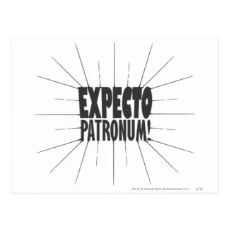 Harry Potter-Bann | Expecto Patronum! Postkarte