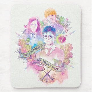 Harry Potter-Bann | Harry, Hermione u. Ron Waterc Mousepad
