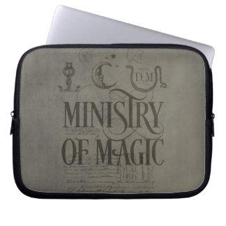 Harry Potter-Bann | MINISTERIUM VON MAGIE Laptopschutzhülle