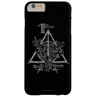 Harry Potter-Bann TOTEN | HEILIGT Grafik Barely There iPhone 6 Plus Hülle