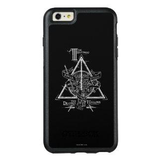 Harry Potter-Bann TOTEN | HEILIGT Grafik OtterBox iPhone 6/6s Plus Hülle