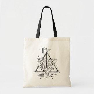 Harry Potter-Bann TOTEN | HEILIGT Grafik Tragetasche