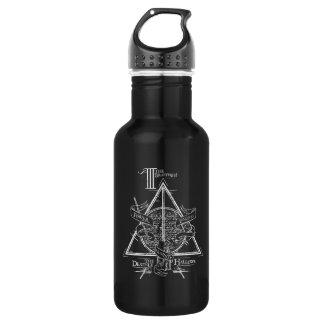 Harry Potter-Bann TOTEN | HEILIGT Grafik Trinkflasche