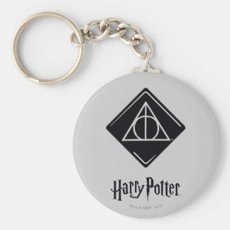 Harry Potter-Bann toten | heiligt Ikone Schlüsselanhänger