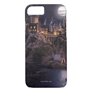 Harry Potter-Castle | großer See zu Hogwarts iPhone 8/7 Hülle