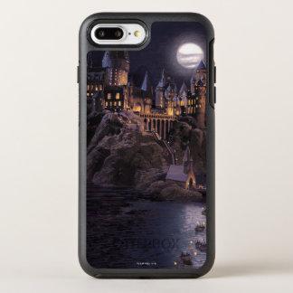 Harry Potter-Castle | großer See zu Hogwarts OtterBox Symmetry iPhone 8 Plus/7 Plus Hülle