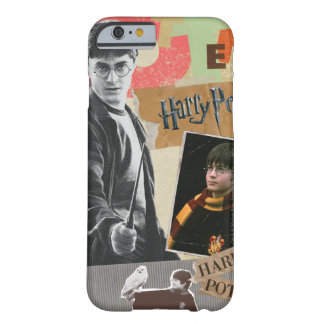 Harry Potter dann und jetzt Barely There iPhone 6 Hülle