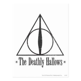 Harry Potter | das toten heiligt Emblem Postkarte