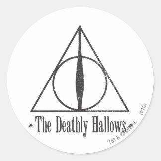 Harry Potter | das toten heiligt Emblem Runder Aufkleber