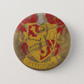 Harry Potter | Gryffindor - Retro Haus-Wappen Runder Button 5,7 Cm