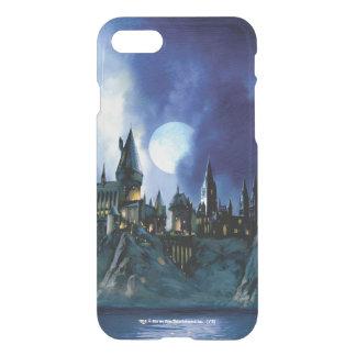 Harry Potter   Hogwarts durch Mondschein iPhone 7 Hülle
