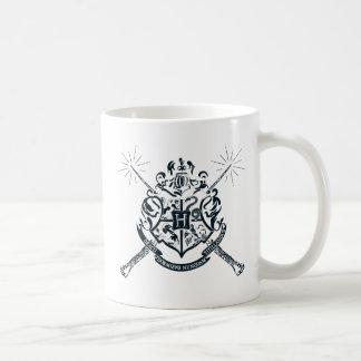 Harry Potter   Hogwarts gekreuztes Wands-Wappen Kaffeetasse