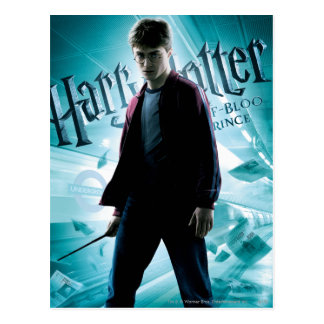 Harry Potter HPE6 2 Postkarte