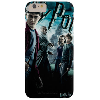 Harry Potter mit Dumbledore Ron und Hermione 1 Barely There iPhone 6 Plus Hülle