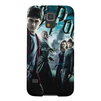 Harry Potter mit Dumbledore Ron und Hermione 1 Galaxy S5 Hülle