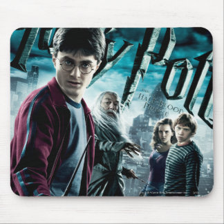 Harry Potter mit Dumbledore Ron und Hermione 1 Mousepad