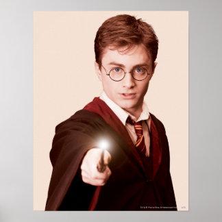 Harry Potter-Punkt-Stab Poster
