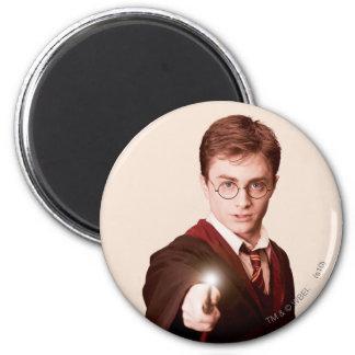 Harry Potter-Punkt-Stab Runder Magnet 5,1 Cm