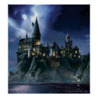 Harry Potter-Schloss | Moonlit Hogwarts Poster