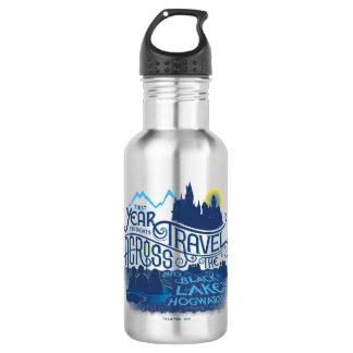 Harry Potter | schwarzer See zu Hogwarts Edelstahlflasche