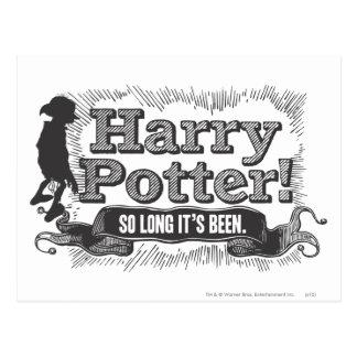 Harry Potter! So lang ist er gewesen Postkarte