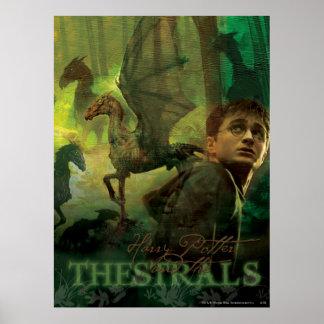 Harry Potter Thestrals Plakat