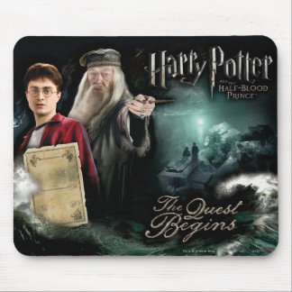 Harry Potter und Dumbledore Mousepad