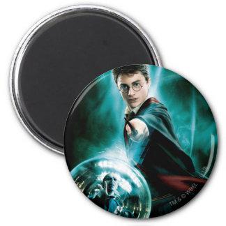 Harry Potter und Voldemort nur man können überlebe Runder Magnet 5,1 Cm