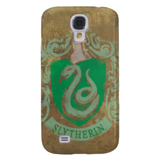 Harry Potter | Vintages Slytherin Galaxy S4 Hülle