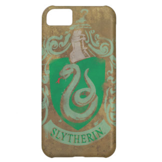 Harry Potter | Vintages Slytherin iPhone 5C Hülle