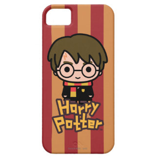 Harry- PotterCartoon-Charakter-Kunst Barely There iPhone 5 Hülle