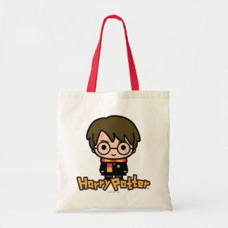 Harry- PotterCartoon-Charakter-Kunst Tragetasche