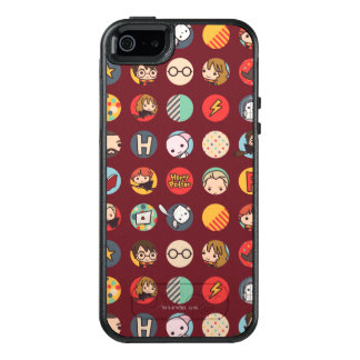 Harry- PotterCartoon-Ikonen-Muster OtterBox iPhone 5/5s/SE Hülle
