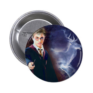 Harry Potters Hirsch Patronus Buttons