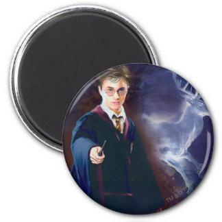 Harry Potters Hirsch Patronus Runder Magnet 5,1 Cm