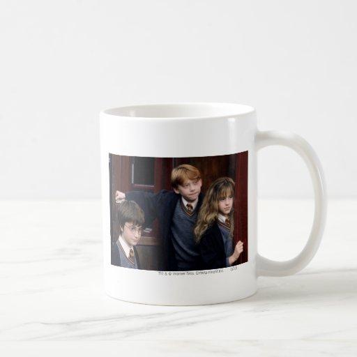 Harry, Ron und Hermione Teetasse