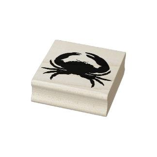 Hart-Krabbe-Gummi Stamp_Multi färbt _Ink Gummistempel