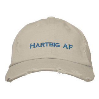 HARTBIG AF Baseballmütze Bestickte Kappe