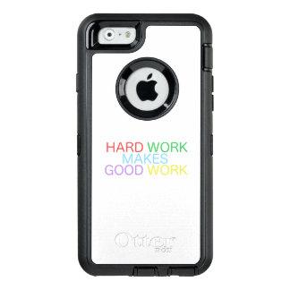 Harte Arbeit macht gute Arbeit OtterBox iPhone 6/6s Hülle