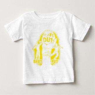 Harte Beanspruchung - Kugelstoßen Baby T-shirt
