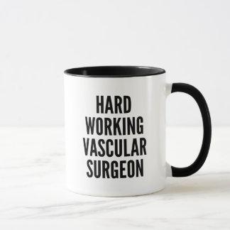 Harter arbeitender Gefäßchirurg Tasse